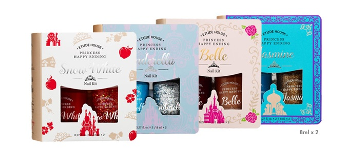 Etude House Princess Happy Ending Nail Kit