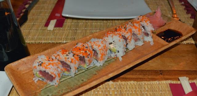 Carpe Diem Barcelona sushi rolls