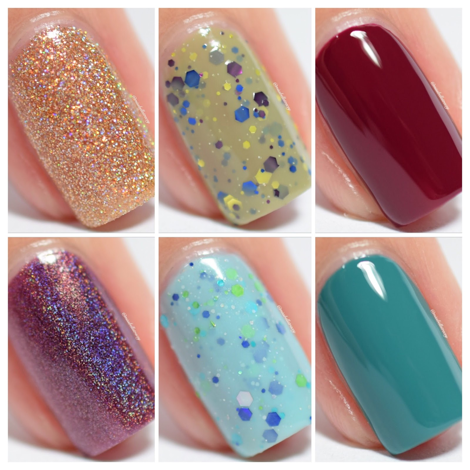 MissBellaTracey: KB Shimmer from Harlow and Co - 6 Polishes from the ...