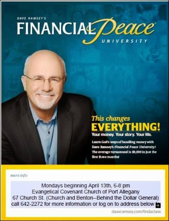 4-13 Financial Peace Port Allegany