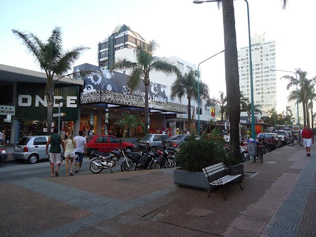 Punta del Este, Uruguai, Gorlero, Indian, Centro