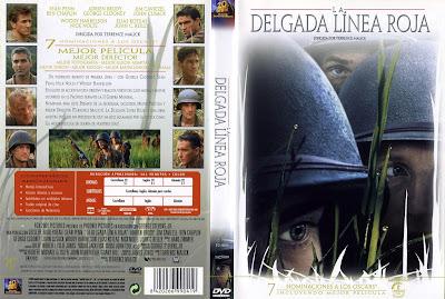 La delgada línea roja | 1998 | The Thin Red Line | DvD Caratula, cover