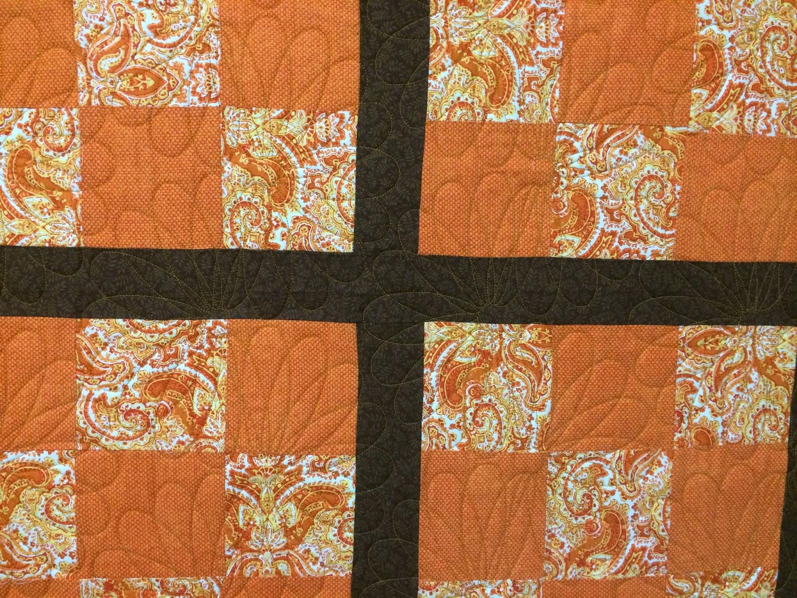 Wendy Bell Orange Blossom Quilt