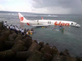 Pesawat Lion Air Jatuh di Laut Bali