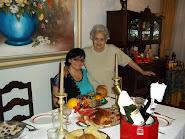 Natal com minha mae...no Brasil