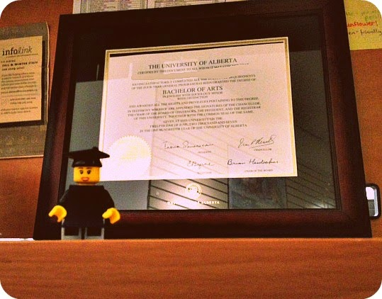 Convocation Gift Idea - Frame (with Lego Grad)