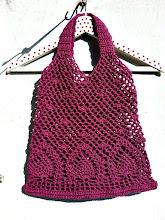 Bolsa de piñas a crochet