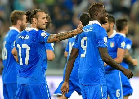 Italia vs Luksemburg