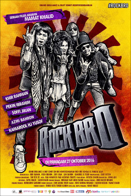 27 OKTOBER 2016 - ROCK BRO! ( MALAY)