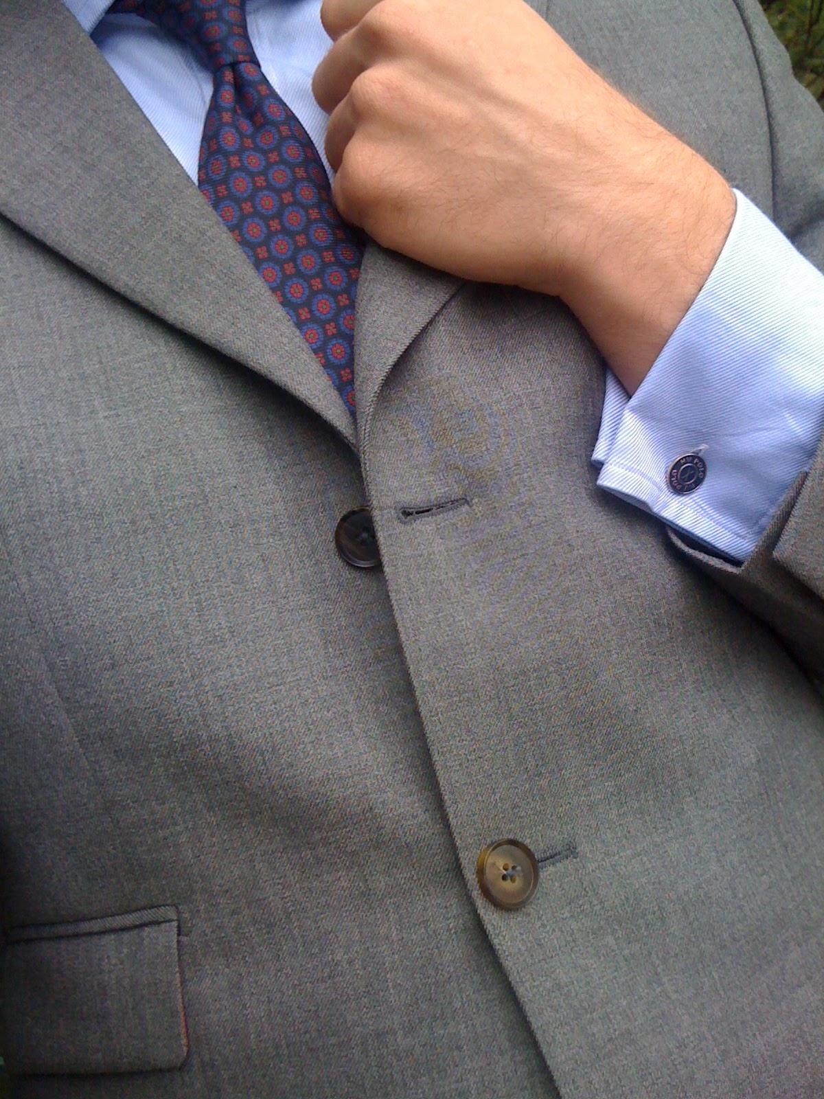 Monasterio Chap September 2011 How To Tie A The Doublewrap Double Windsor Knot Der Anzug Ist Ein Stiffy Aus Holland Und Sherry Wolle