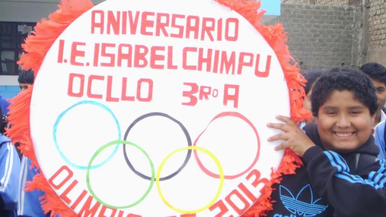 ANIVERSARIO I.E. ISABEL CHIMPU OCLLO