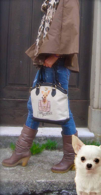maison espin, brigitte bardot, saint tropez, chihuahua graphic, straw bag,  bon ton bag, giorgia and jons, outfit blog, purple denim identity,  charms, borse di paglia, vichy texture, paris hilton, rafia bag,animalier scarf,