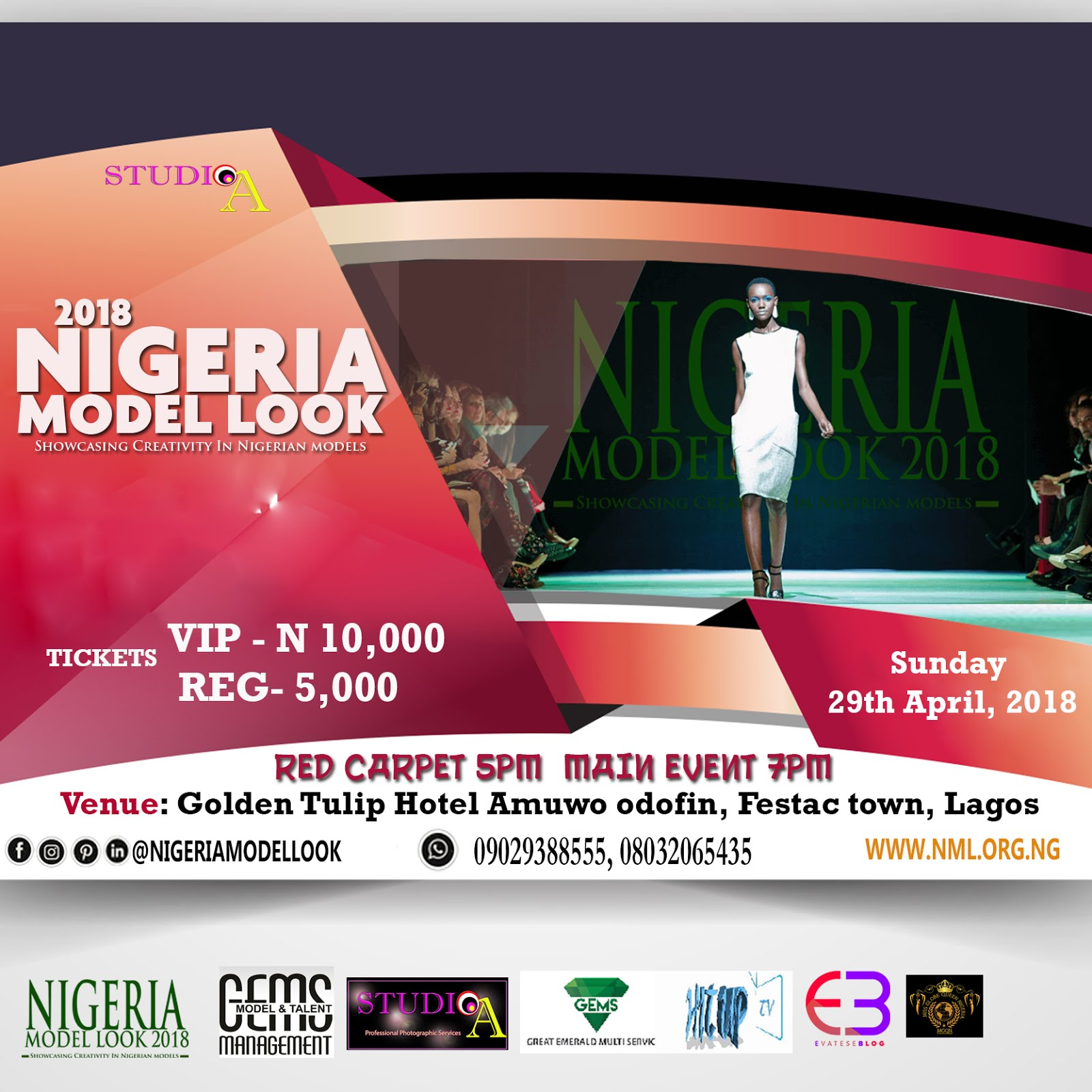 2018 Nigeria Model Look