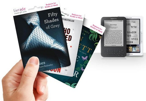 Livrada e-book gift cards