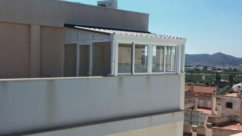 Cerramientos en murcia 674 847 297 alumavel cortinas de cristal toldos ventanas etc - Cubrir terraza barato ...