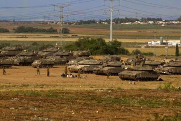 33,000 Tentera Israel siap sedia lancar Serangan Darat