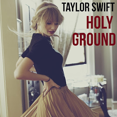 taylor swift holy ground cover