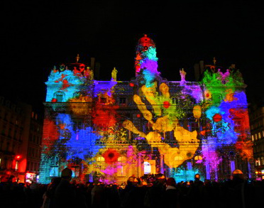 ... photographers and lighting engineers to provide the colored symphony of light that bathes the city in todayu0027s celebration of light. & Writing the Renaissance: Lyonu0027s Fête des Lumières: The Black Death ...