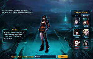 Thirst of Night free browser MMORPG game