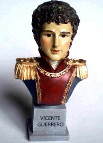 Busto de Vicente Guerrero