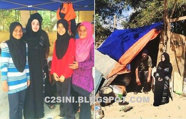 6 Gambar Emma dan ayahanda selami hidup mangsa banjir di Gua Musang