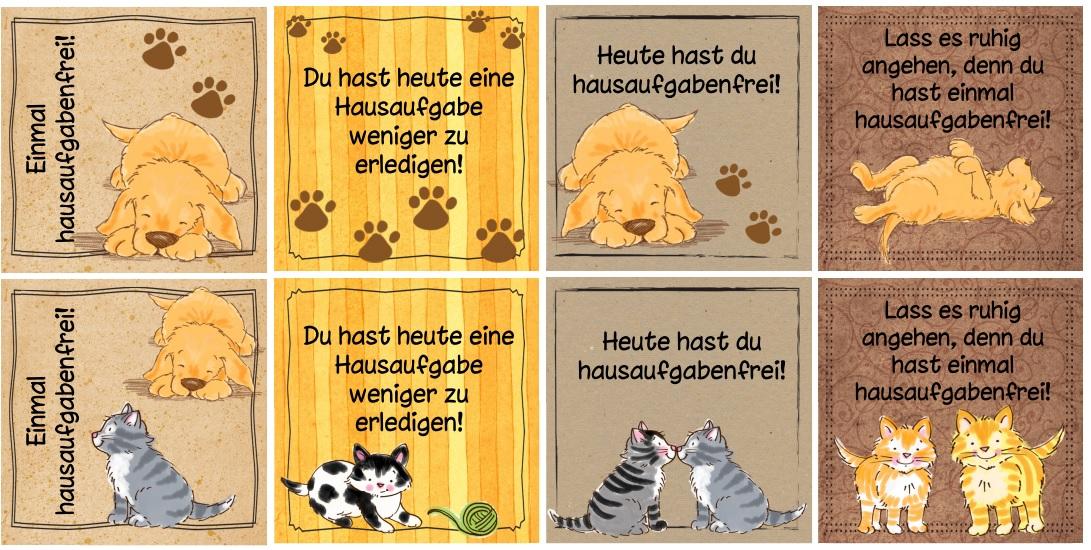 Tierische Hausaufgabengutscheine on Farm Animals Activities