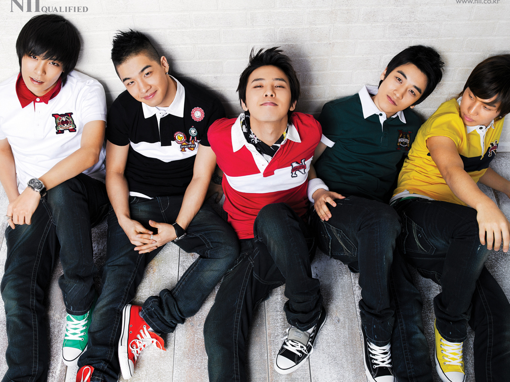 Asian Celebrity: Big Bang Wallpaper