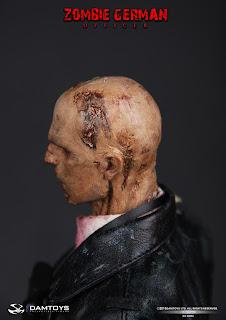 Damtoy 1/6 Scale Zombie German Officer figure