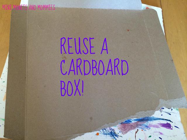 cardboard reuse
