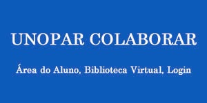 UNOPAR COLABORAR - Área do Aluno, Biblioteca Virtual, Login