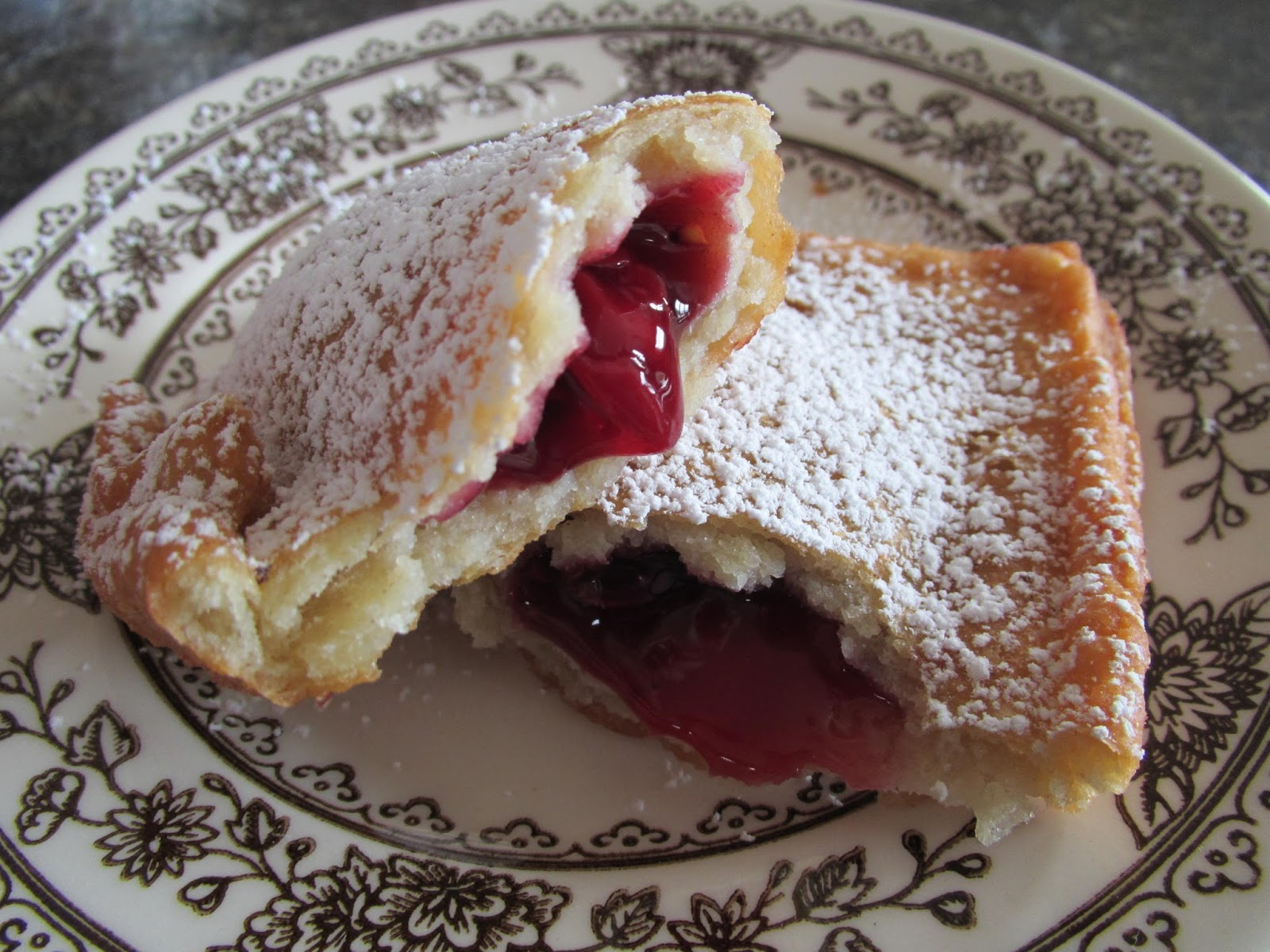 Successfully Gluten Free! : Gluten-Free Cherry Fried Fruit Pies!