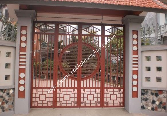Cổng sắt thợ thi công cổng sắt giá rẻ