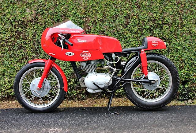Ducati 125 Sport Cafe Racer | 1962 Ducati 125 Sport | Ducati Cafe Racer | Vintage Cafe Racer | way2speed.com