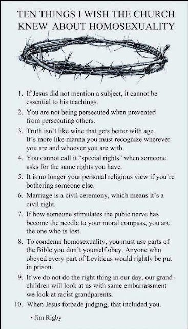 Homosexuality and christianity essay
