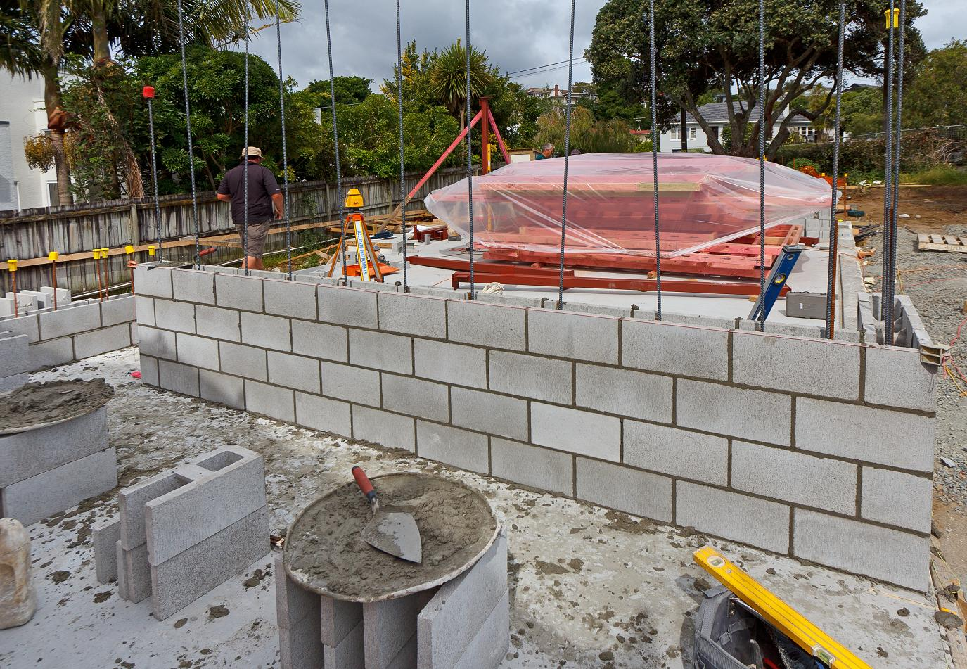 CONCRETE BLOCK WALLS The New Zealands First Passive House