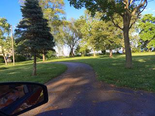 Castle Haven driveway
