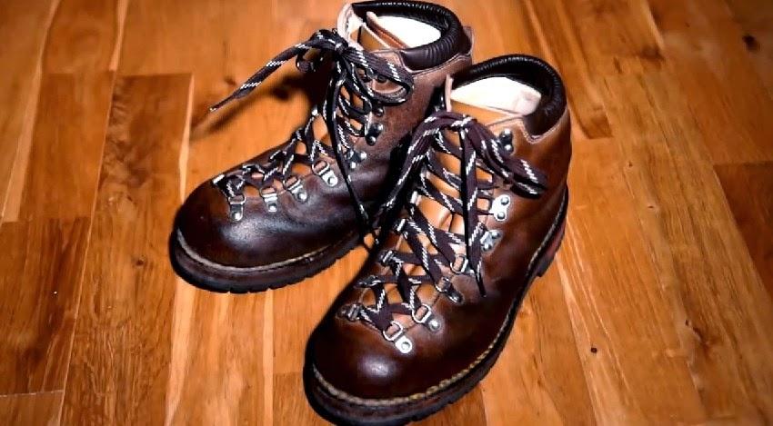 ... 登山靴の手入れ ゴローS-8(10