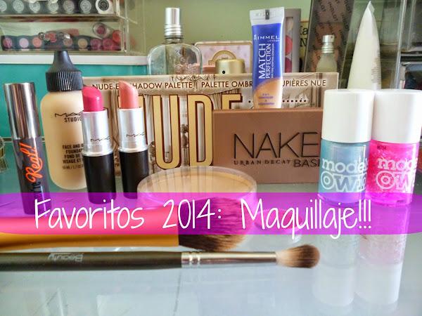 Favoritos 2014: Maquillaje!!!