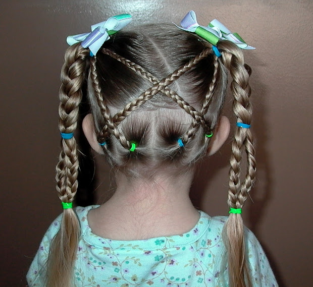 braids little girl's hair