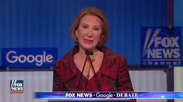Carly Fiorina Dragon Queen Fox News Debate GOP scales red crimson