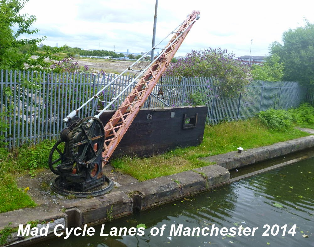 Lewd Barton Photo >> Mad Cycle Lanes of Manchester: Bridgewater Way, Mosley Rd to the Ship Canal