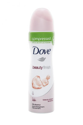 Dove Beauty Finish Spray Compressed Anti-Perspirant Deodorant
