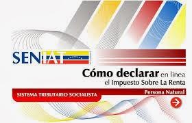 SENIAT:  Declaración del ISLR del ejercicio fiscal 2013, se hará con UT a Bs. 107