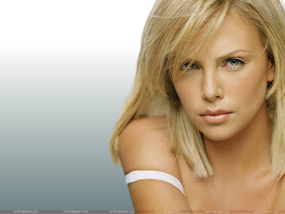 Charlize Theron Wide Screen Wallpaper