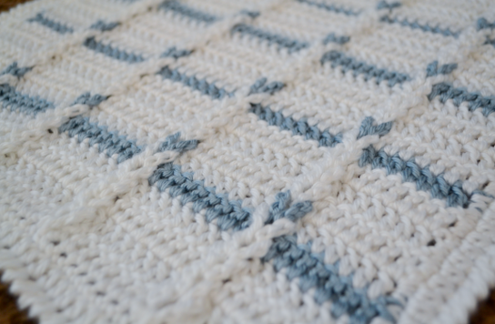 Love you more than a bus: Jacobs Ladder Crochet Angel Baby Blanket ...