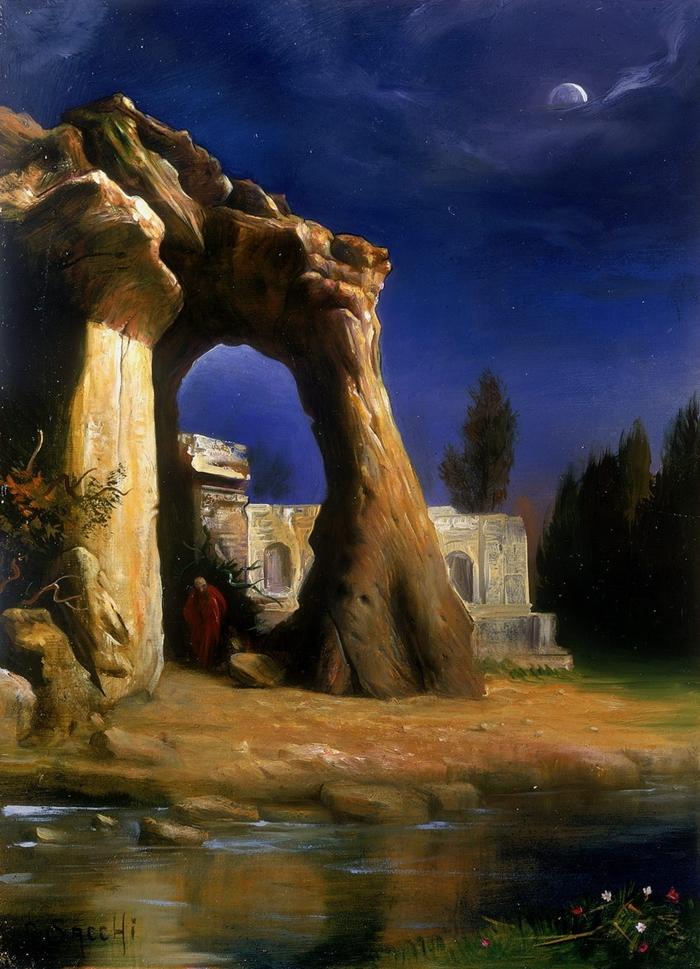 Magic Realism | Claudio Sacchi 1953 | Italian Portrait painter