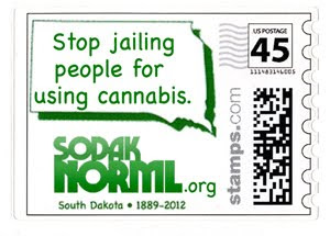 SoDakNORML Postage Stamp