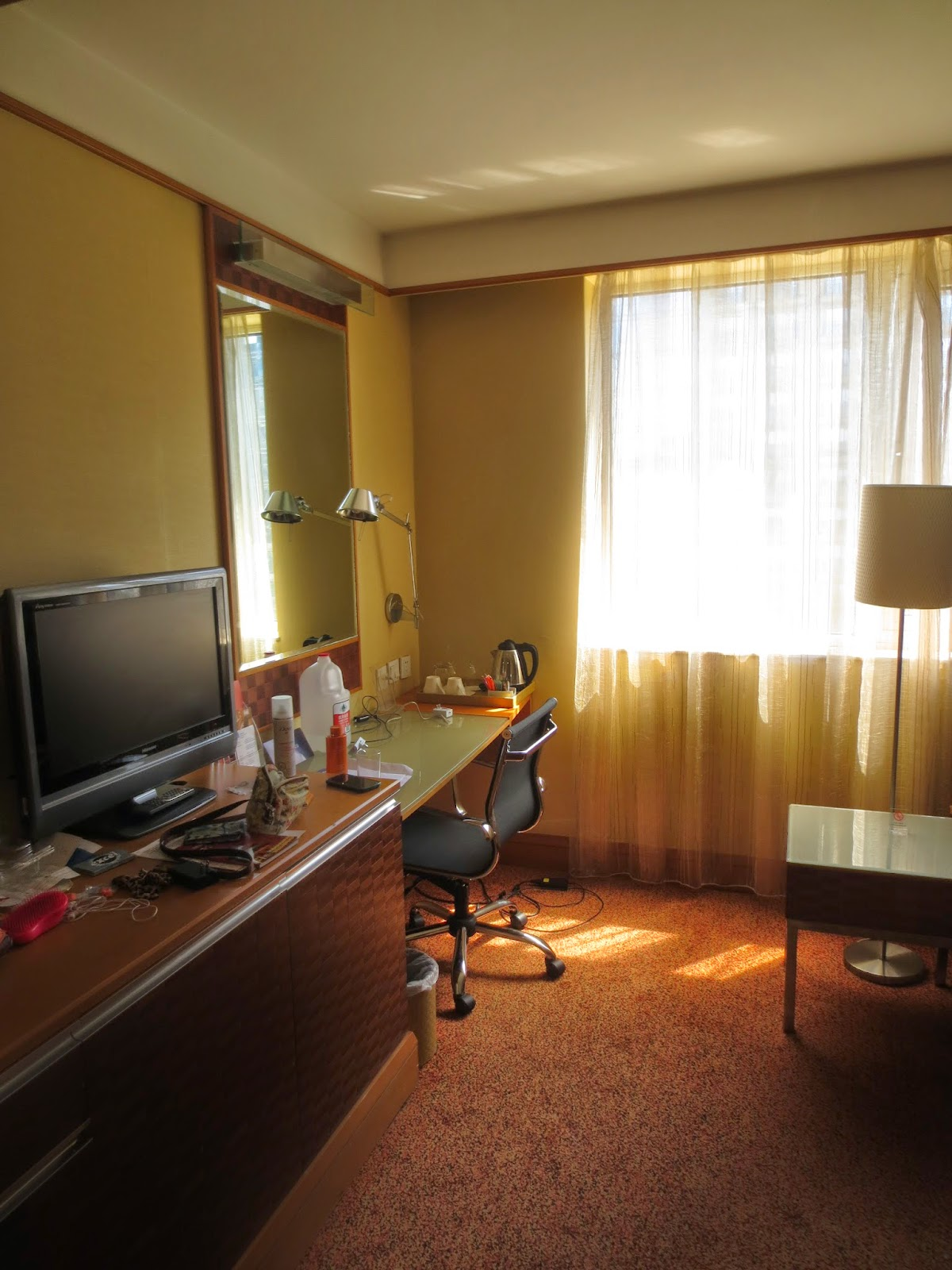 Novotel Beijing Peace Hotel Room Desk