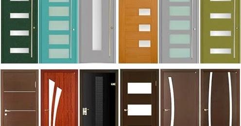 pintu rumah minimalis kayu dengan gaya yang modern