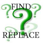 Find/Replace